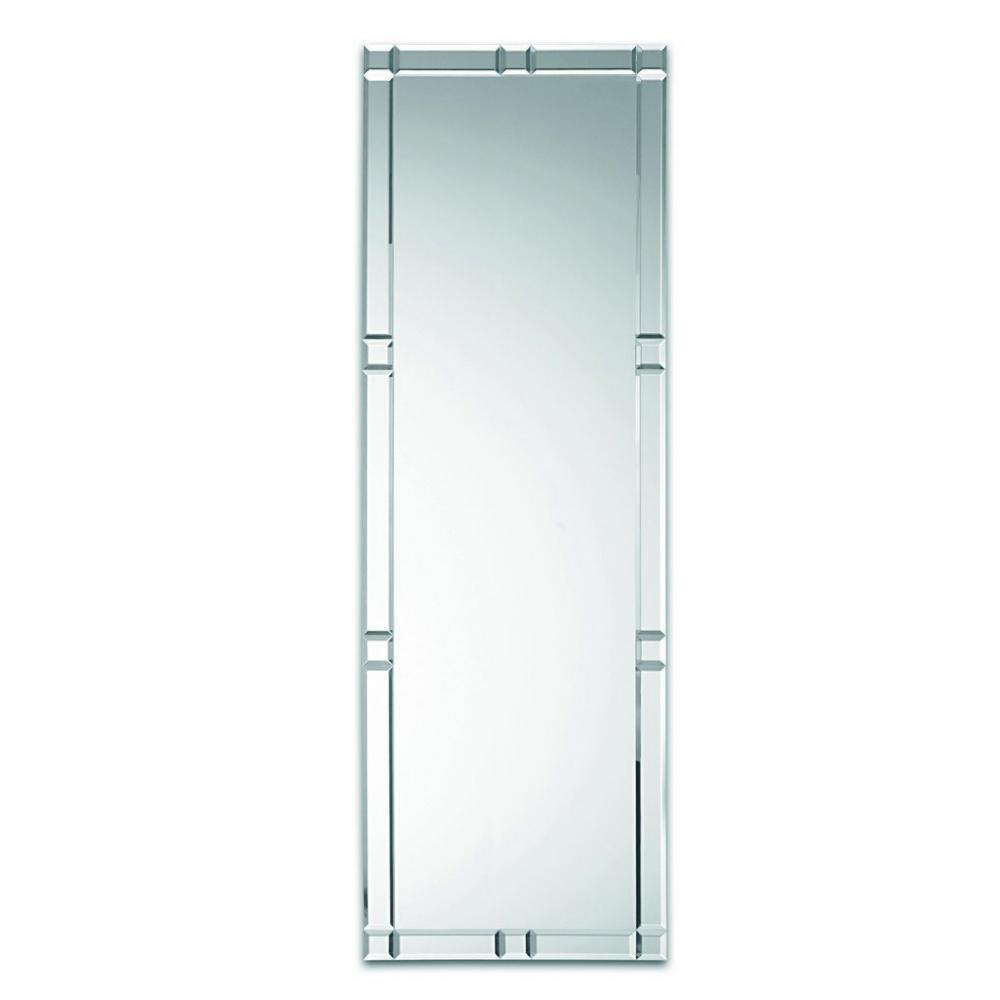 D corations d coration et accessoires domino grand miroir mural design en verre inside75 for Long miroir mural