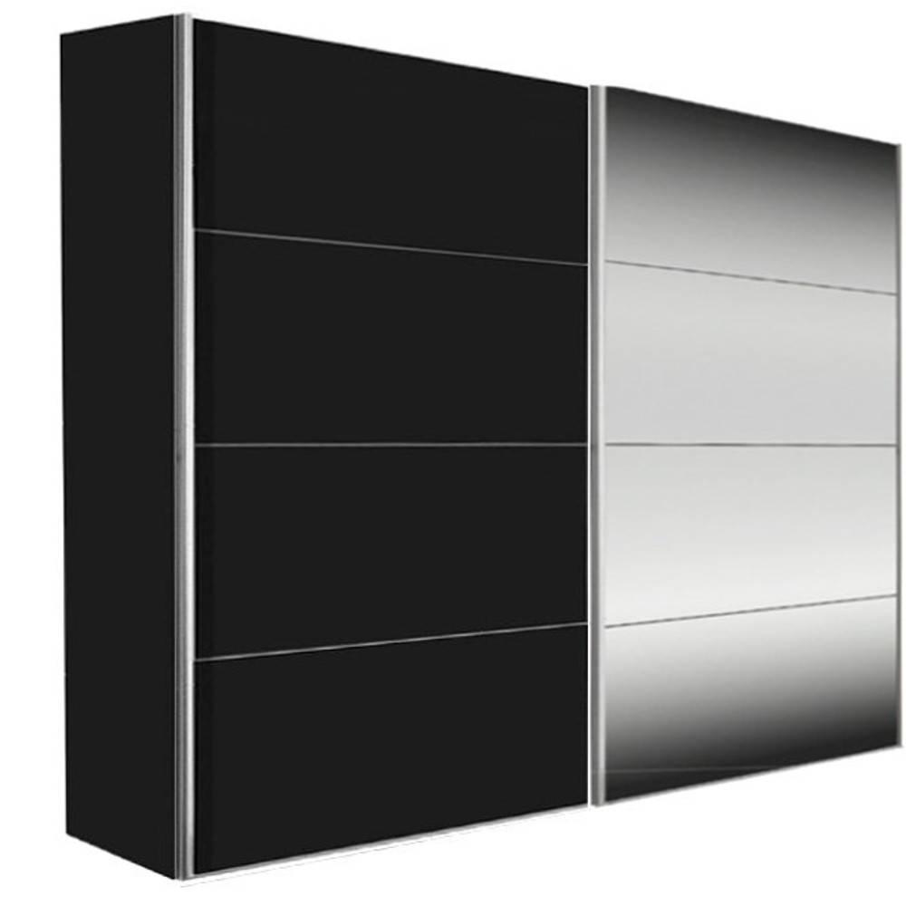 armoire noire porte coulissante interesting armoire dressing porte coulissante miroir obasinc. Black Bedroom Furniture Sets. Home Design Ideas