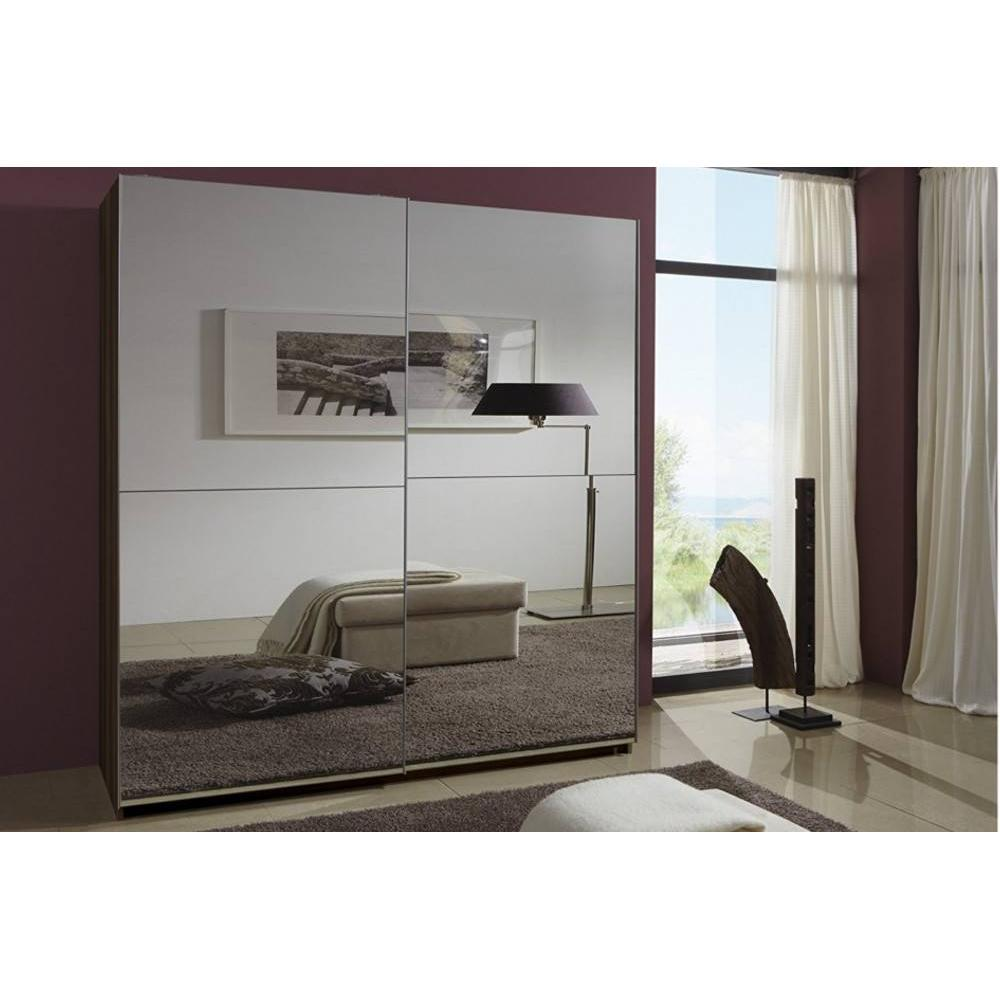 dressings et armoires meubles et rangements dressing clapton 180cm coloris noyer avec 2 portes. Black Bedroom Furniture Sets. Home Design Ideas