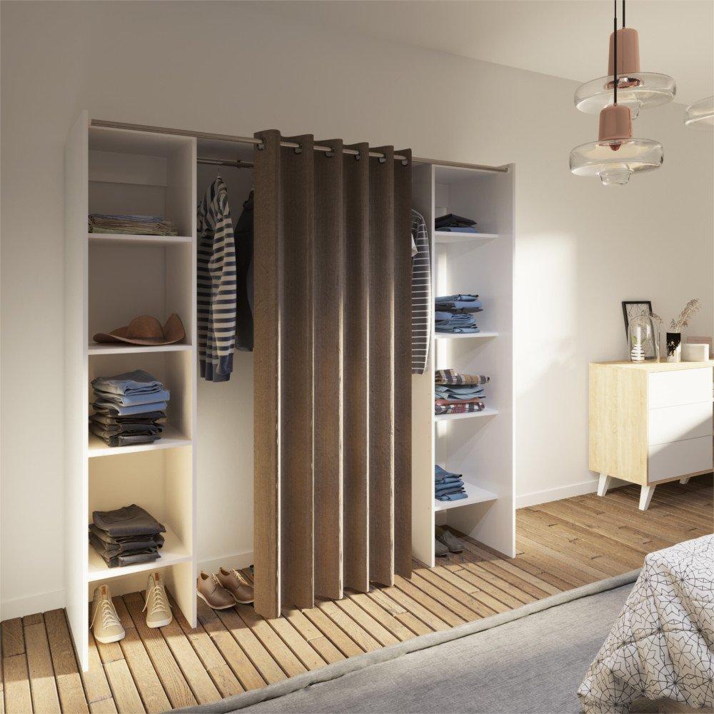 dressings et armoires chambre literie dressing. Black Bedroom Furniture Sets. Home Design Ideas
