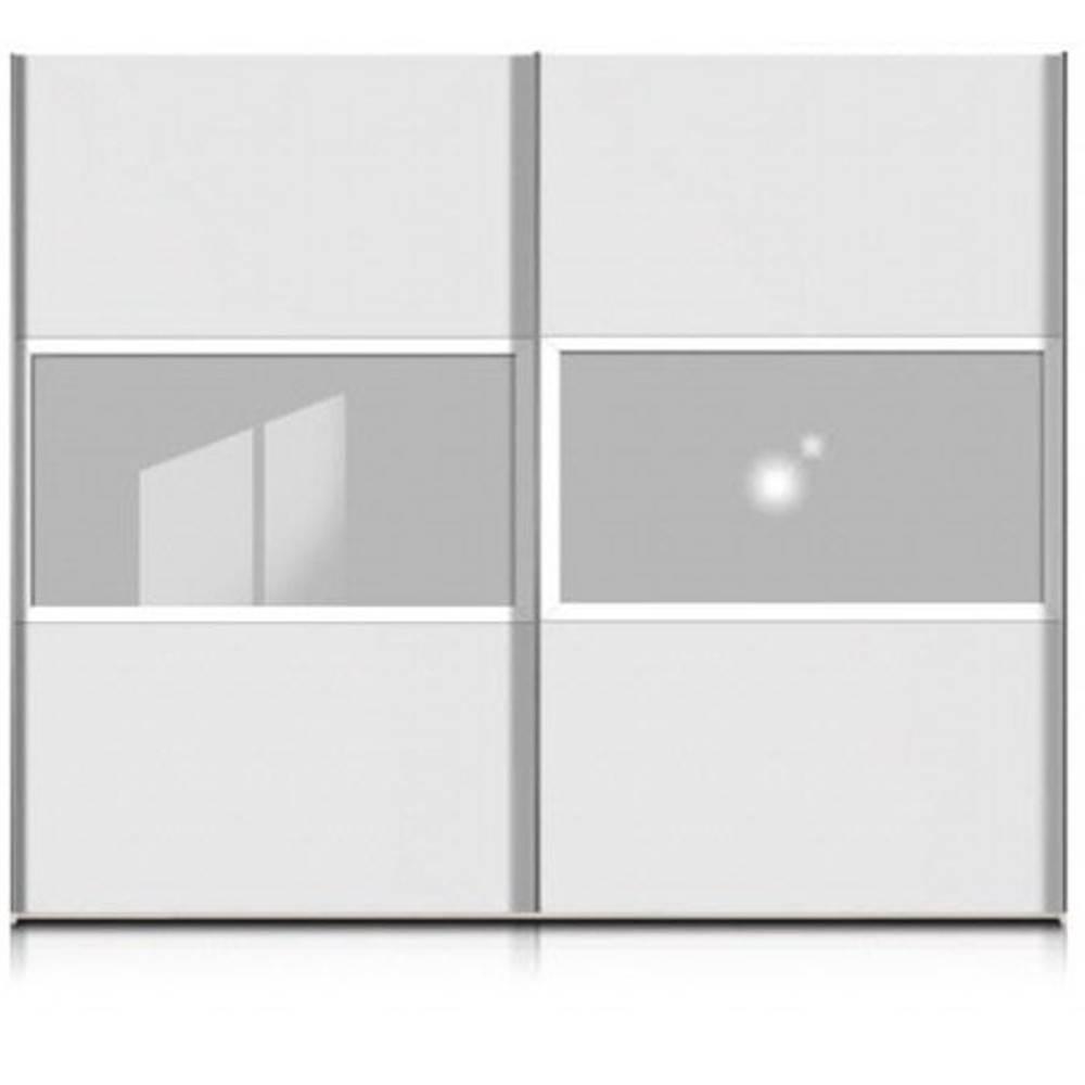 dressings et armoires chambre literie dressing penderie berlin deux portes coulissante blanc. Black Bedroom Furniture Sets. Home Design Ideas