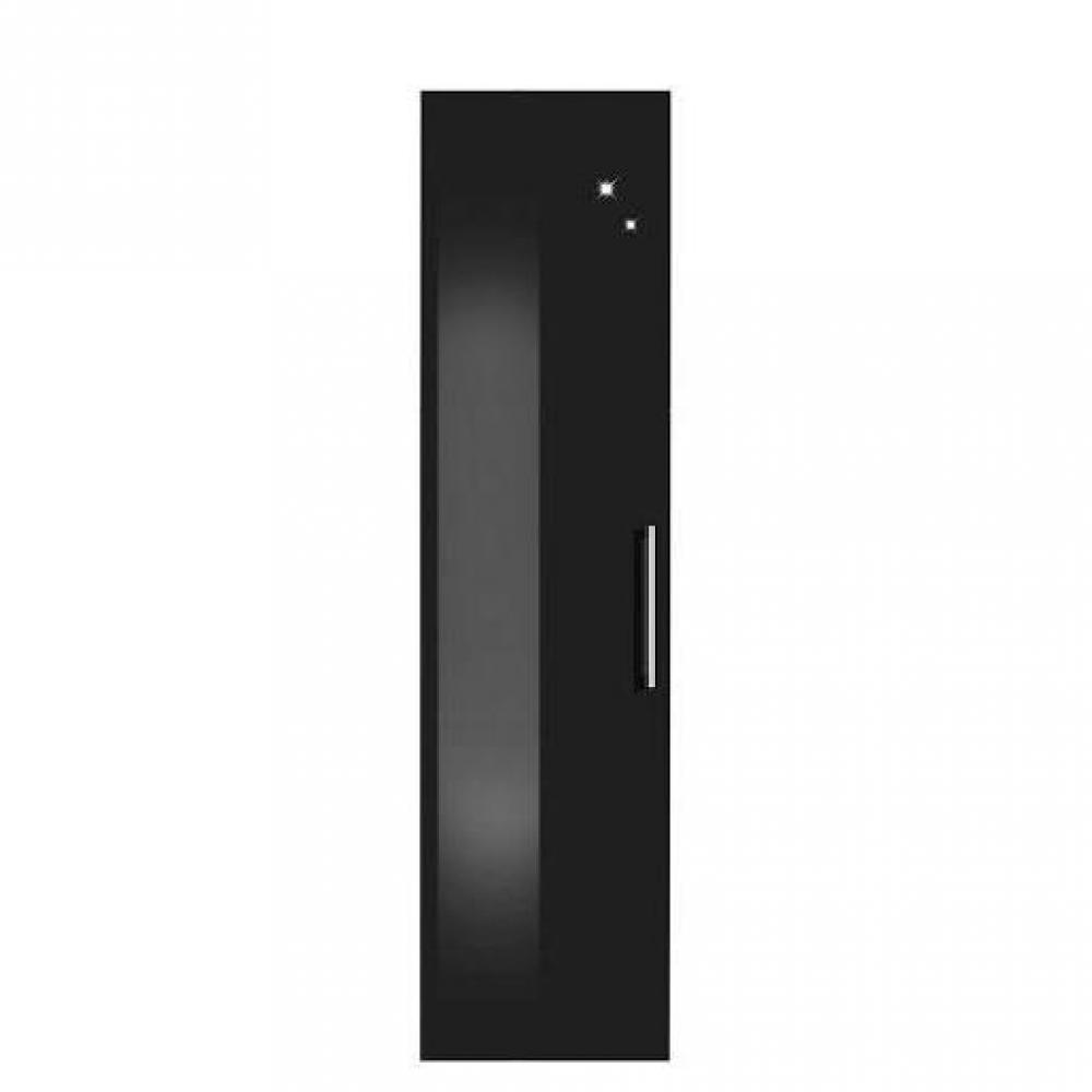 dressings et armoires meubles et rangements dressing penderie paris une porte abattant noir. Black Bedroom Furniture Sets. Home Design Ideas