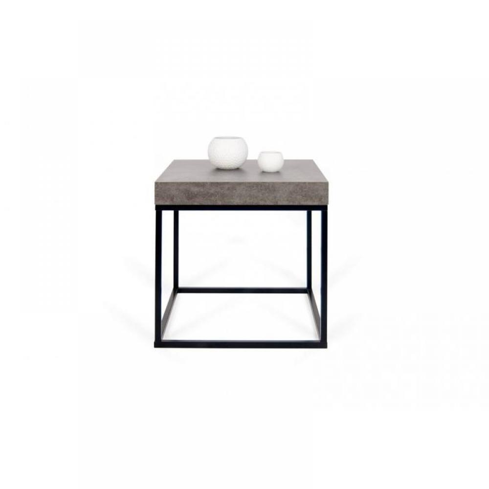 Tables basses meubles et rangements temahome petra table - Table basse imitation beton ...