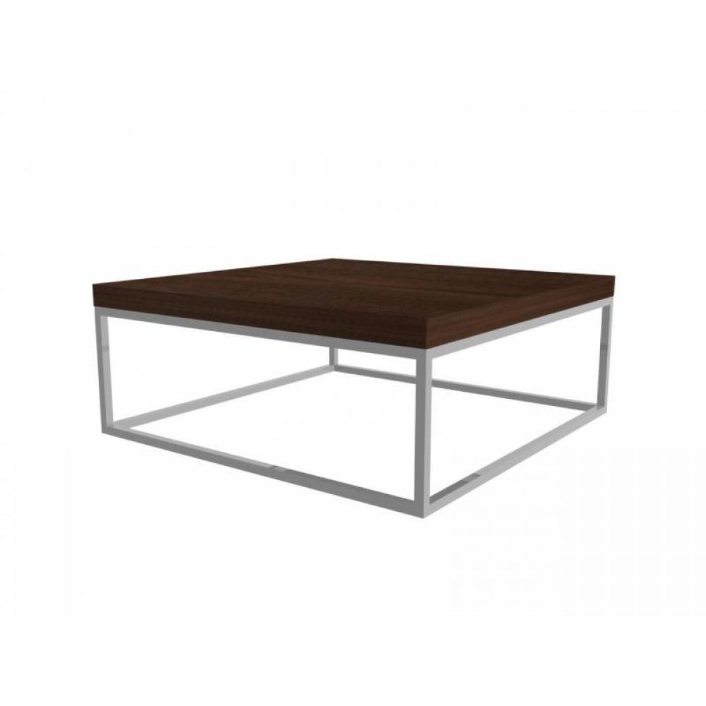 table basse carr e ronde ou rectangulaire au meilleur prix duke table basse carr e en noyer. Black Bedroom Furniture Sets. Home Design Ideas