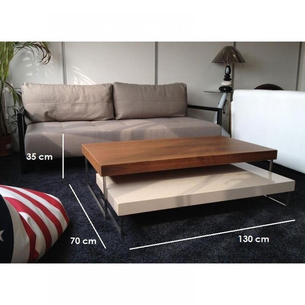 tables basses meubles et rangements duo table basse modulable bois laque design inside75. Black Bedroom Furniture Sets. Home Design Ideas