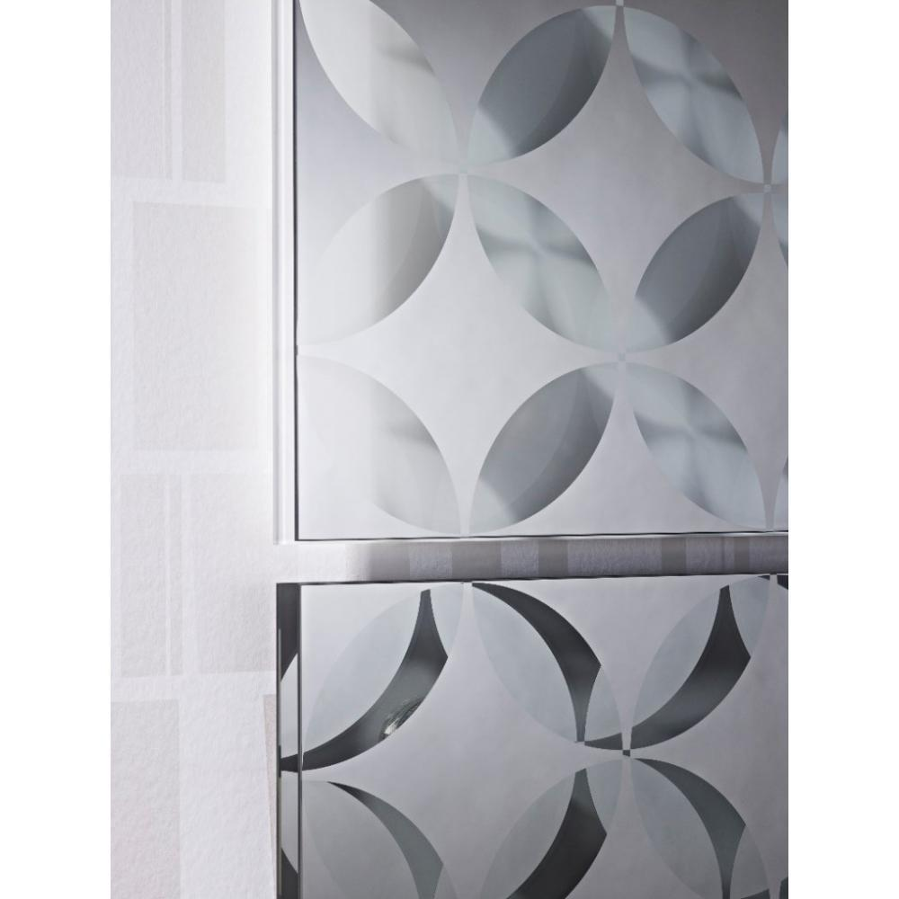 Miroirs meubles et rangements duo 2 miroir mural design for Meuble mural en verre