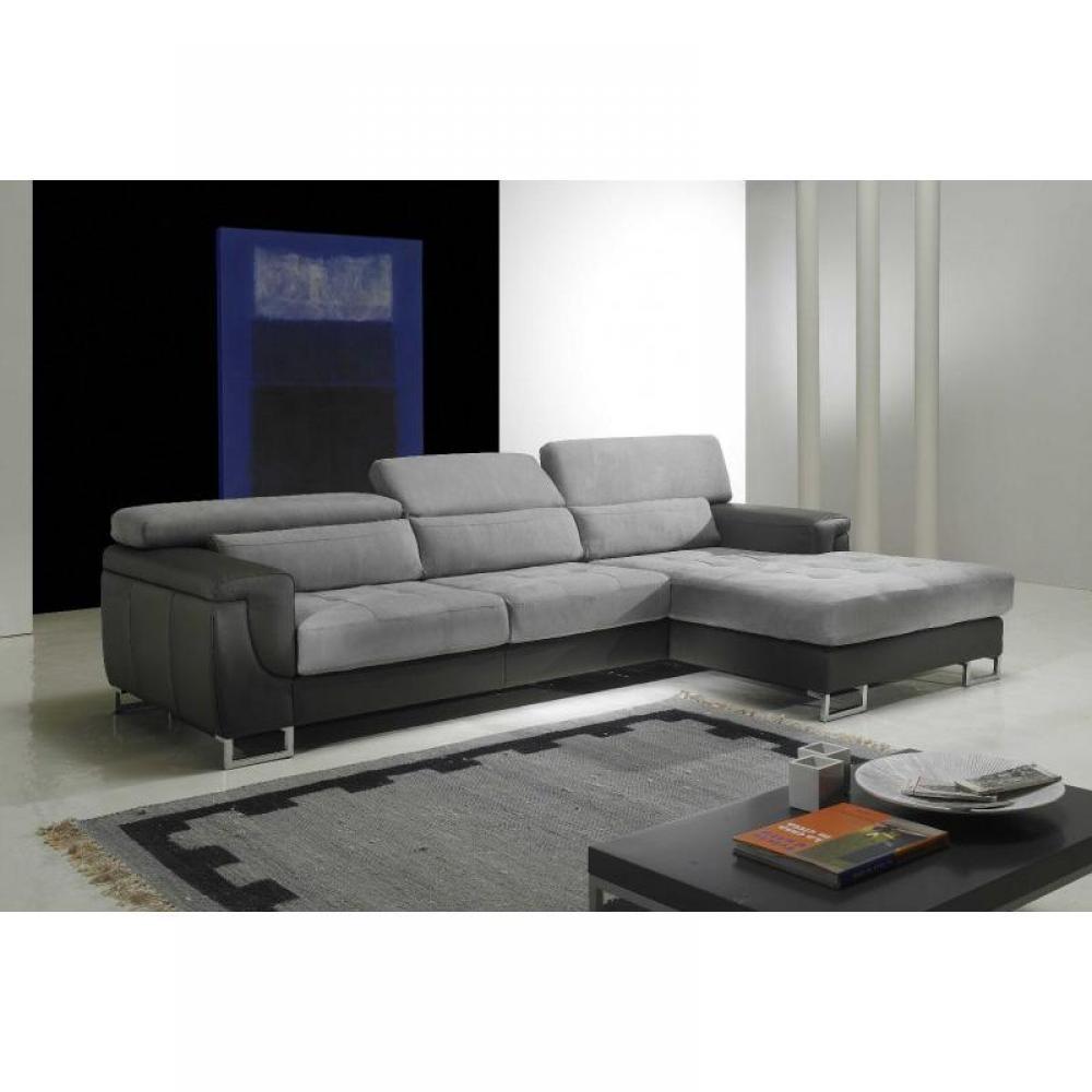 canap d 39 angle moderne et classique au meilleur prix duplex canap d 39 angle droit cuir et. Black Bedroom Furniture Sets. Home Design Ideas