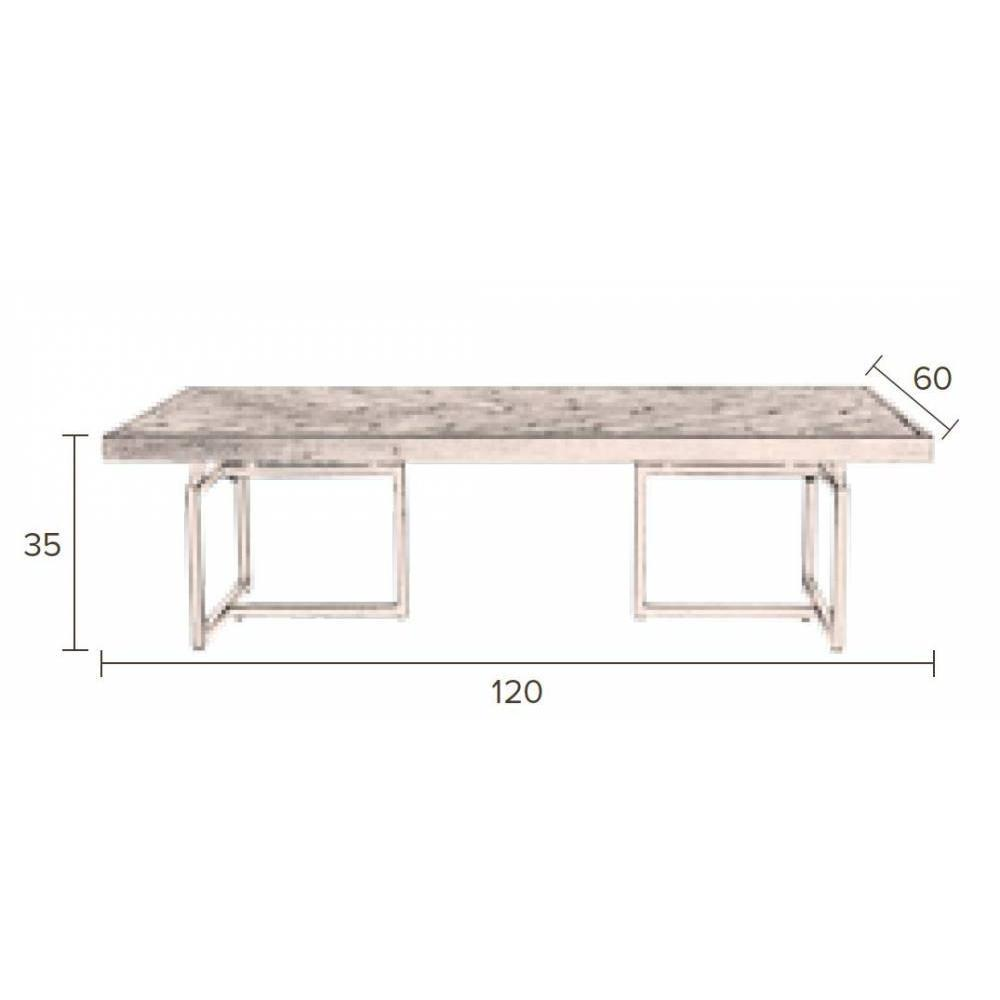 Table basse carr e ronde ou rectangulaire au meilleur for Table basse acacia
