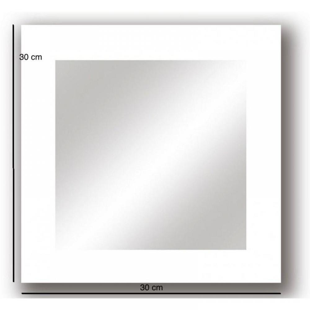 Miroirs meubles et rangements echoes miroir mural design for Miroir carre blanc