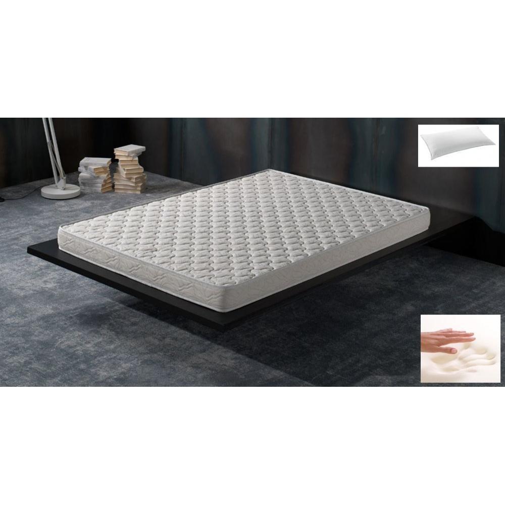 Canapé lit express ECLIPSE ELITE tweed gris silex sommier lattes 140cm assises et matelas mémoire de forme