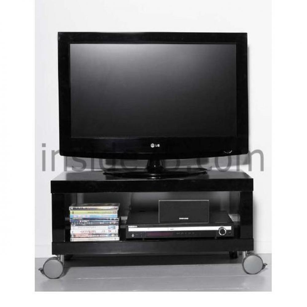 Meubles tv meubles et rangements meuble tv design mobile - Meuble tv noir brillant ...