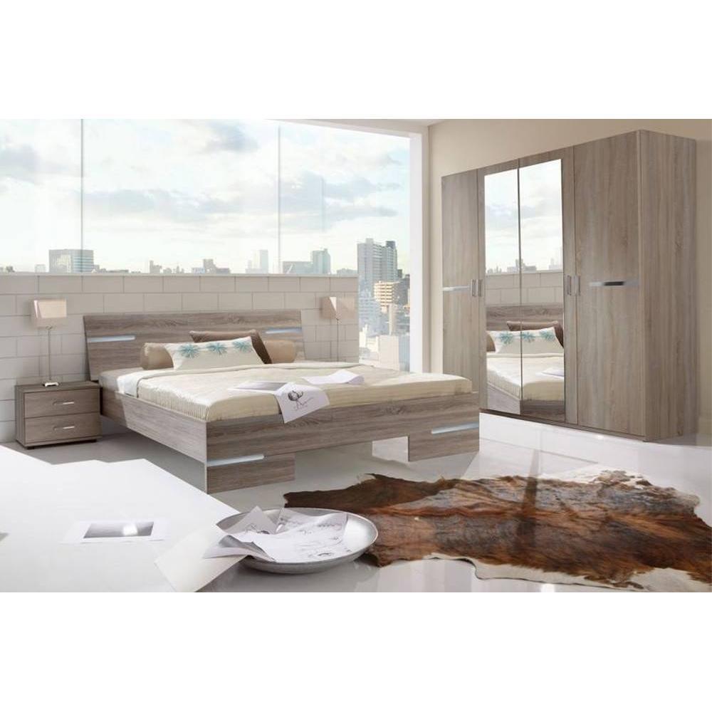 Chambre à coucher CARAMELLA chêne Montana