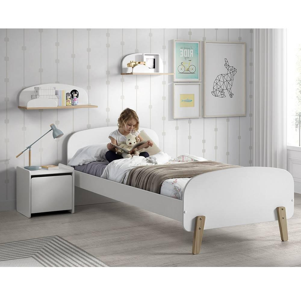 chambre enfant chambre literie ensemble chambre enfant infini blanc style scandinave. Black Bedroom Furniture Sets. Home Design Ideas