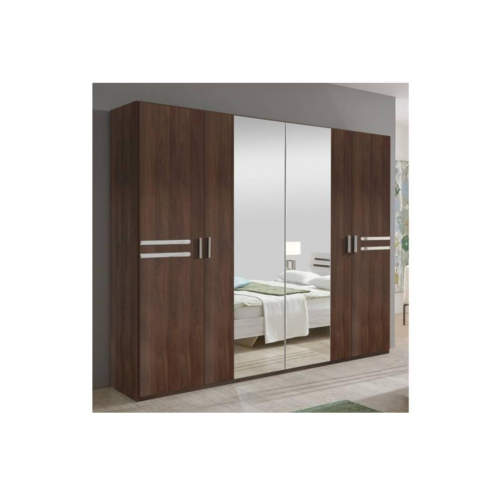 lits chambre literie chambre coucher idaho noyer. Black Bedroom Furniture Sets. Home Design Ideas
