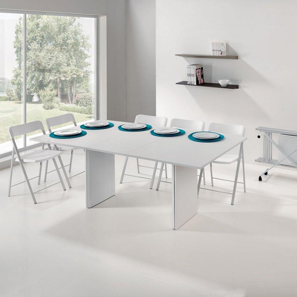 Console extensible le gain de place tendance au meilleur for Ensemble table et chaise extensible