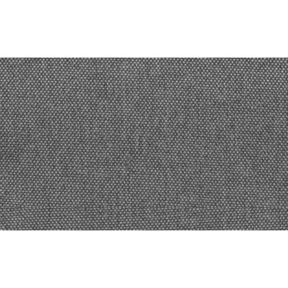 Lit design haut de gamme BALZAC 160*200 cm tissu tweed gris silex