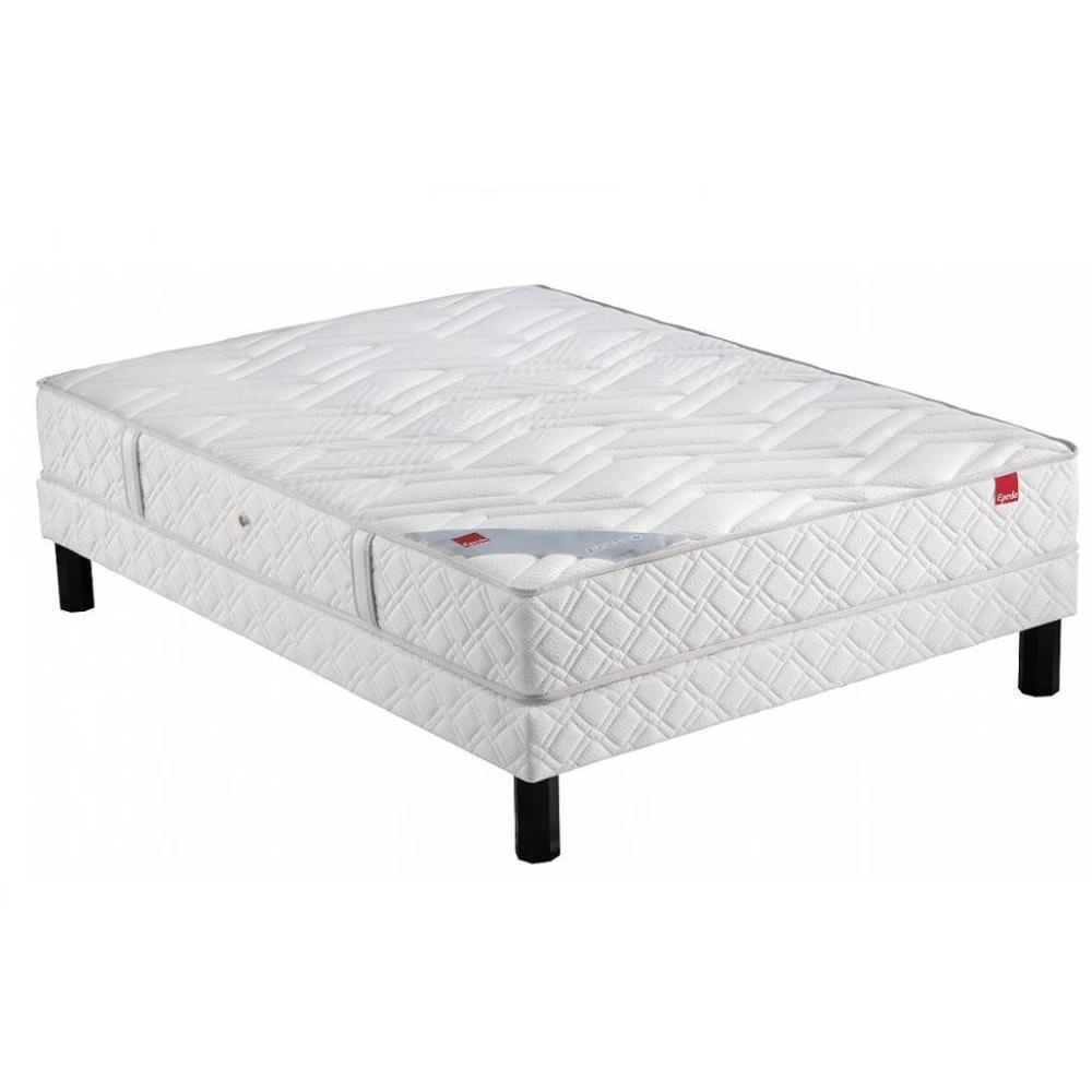 ensemble de matelas et sommier au meilleur prix ensemble epeda sommier ferme avec matelas. Black Bedroom Furniture Sets. Home Design Ideas