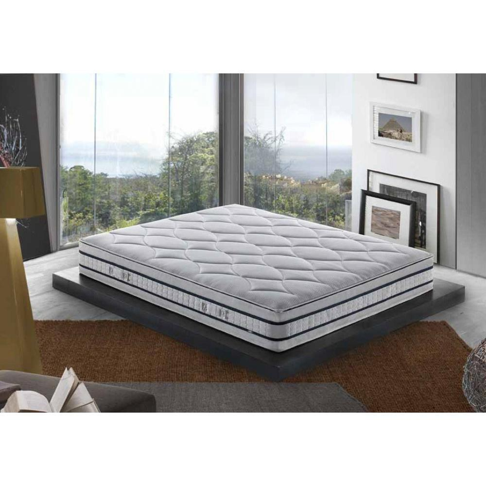 ensemble de matelas et sommier au meilleur prix ensemble de lit vendome en tweed gris silex. Black Bedroom Furniture Sets. Home Design Ideas