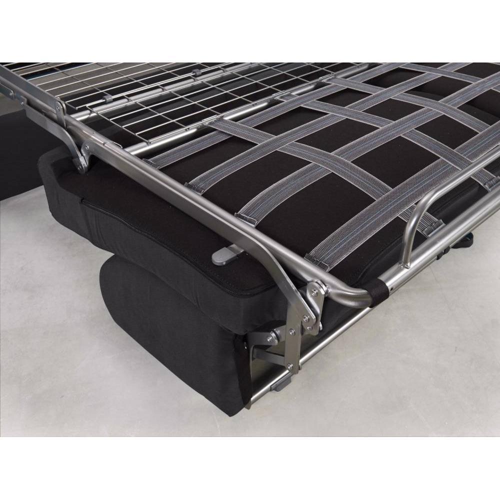 Canapé convertible MIDNIGHT express 140 cm matelas 16 cm neo anthracite