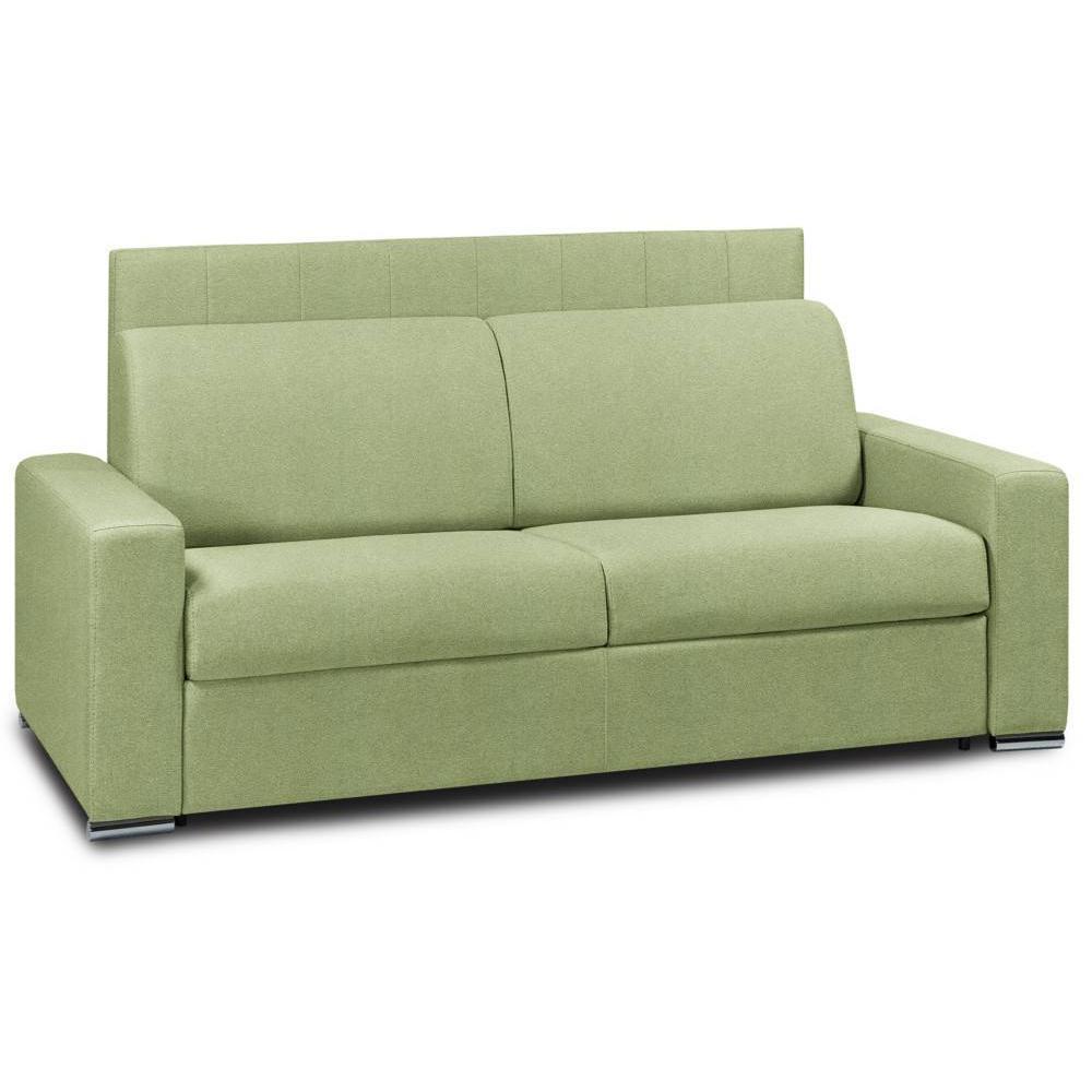Canapé droit 4 places Tissu Design Confort Vert