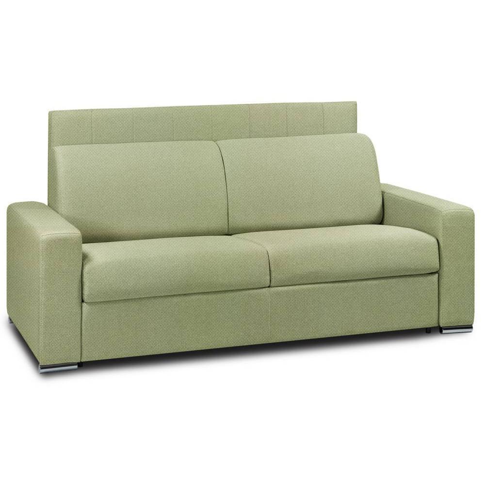 Canapé droit 3 places Tissu Design Confort Vert