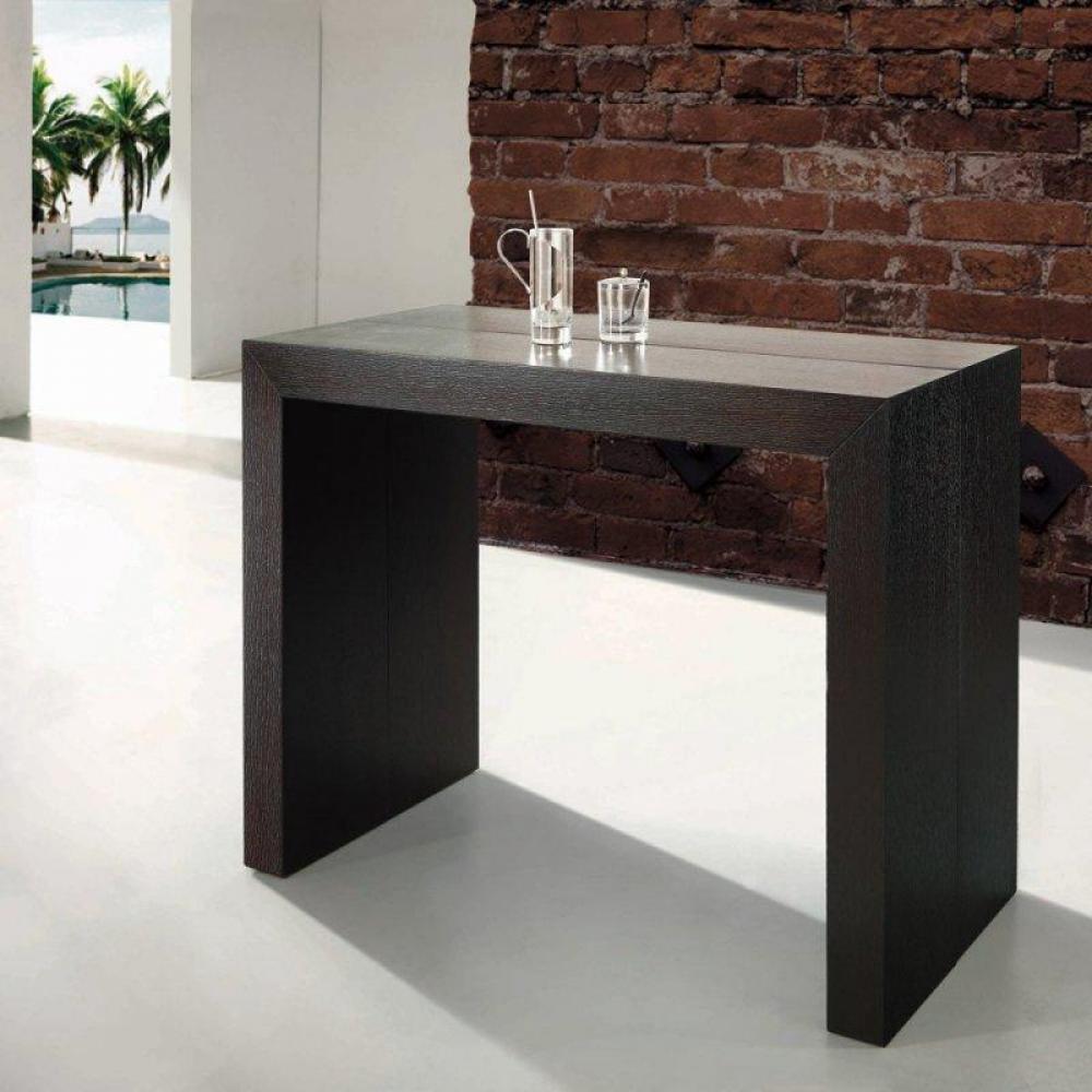 Consoles extensibles meubles et rangements console table extensible extenso - Table console extensible wenge ...