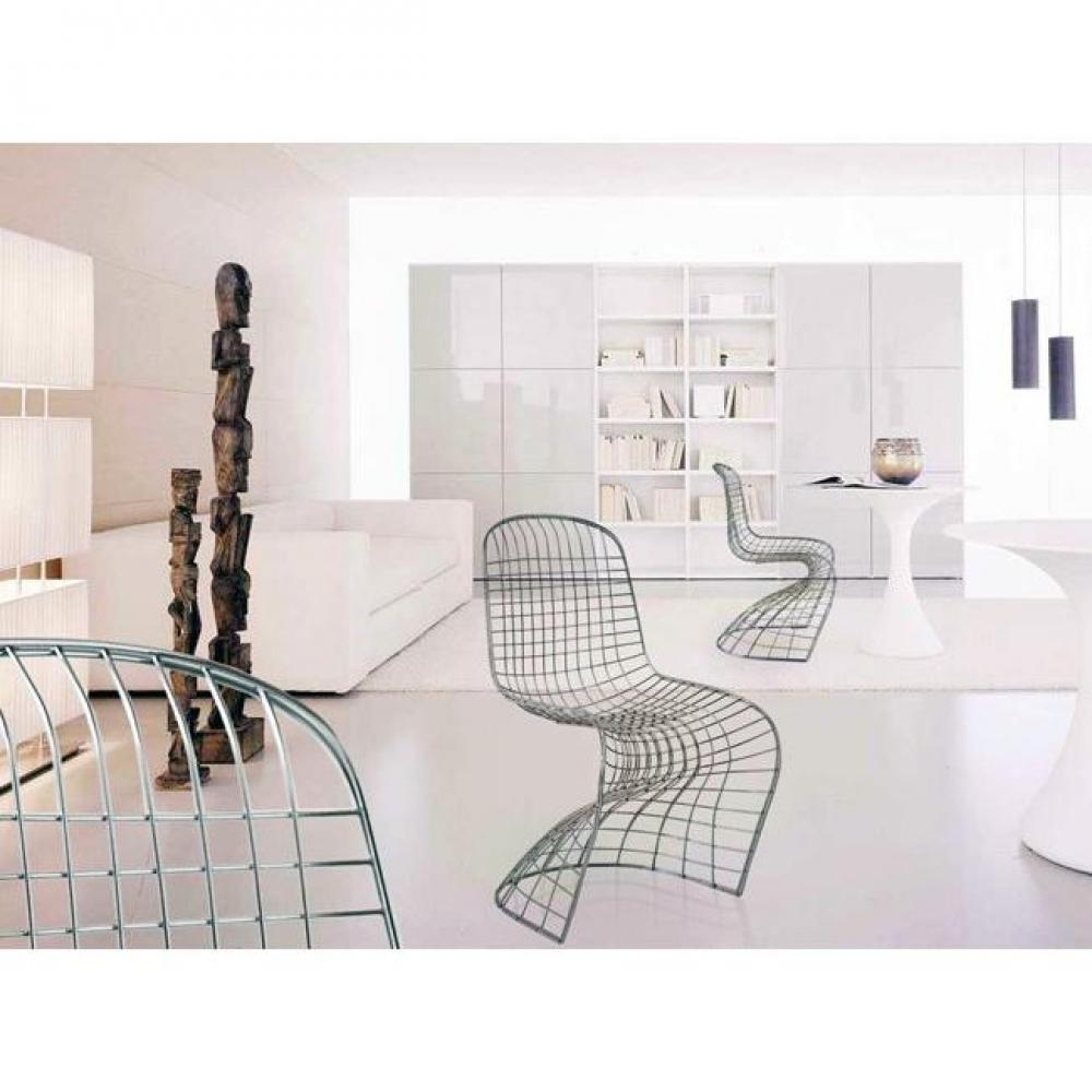 chaise design ergonomique et stylis e au meilleur prix chaise design fantome spider grillage. Black Bedroom Furniture Sets. Home Design Ideas