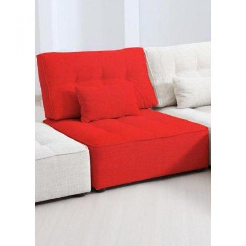 chauffeuse rouge affordable chauffeuse en microfibre creation rouge achat vente chauffeuse with. Black Bedroom Furniture Sets. Home Design Ideas