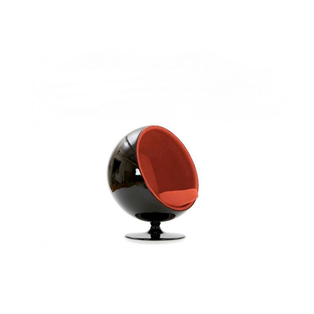 fauteuils boule canap s et convertibles fauteuil boule ball chair coque noir int rieur. Black Bedroom Furniture Sets. Home Design Ideas
