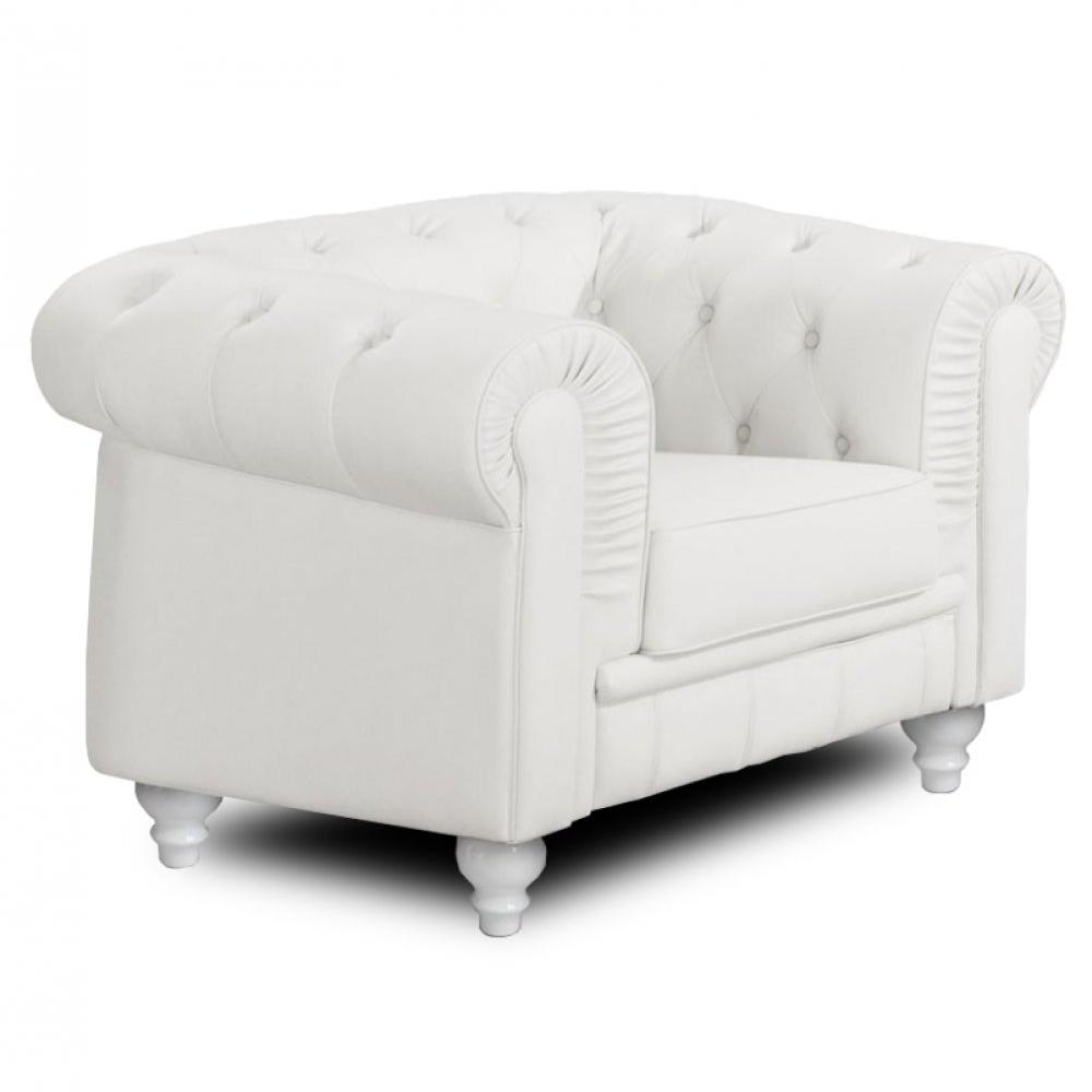 canap chesterfield en cuir velour au meilleur prix fauteuil fixe chesterfield royal blanc. Black Bedroom Furniture Sets. Home Design Ideas