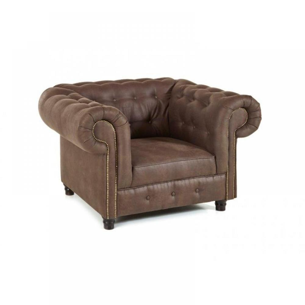 canap s convertibles ouverture rapido fauteuil fixe oxford chesterfield marron vintage inside75. Black Bedroom Furniture Sets. Home Design Ideas