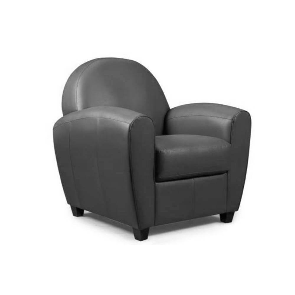fauteuils club canap s et convertibles fauteuil club bufallo gris anthracite inside75. Black Bedroom Furniture Sets. Home Design Ideas