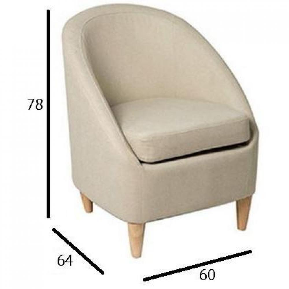 fauteuils design canap s et convertibles petit fauteuil chic microfibre sable inside75. Black Bedroom Furniture Sets. Home Design Ideas