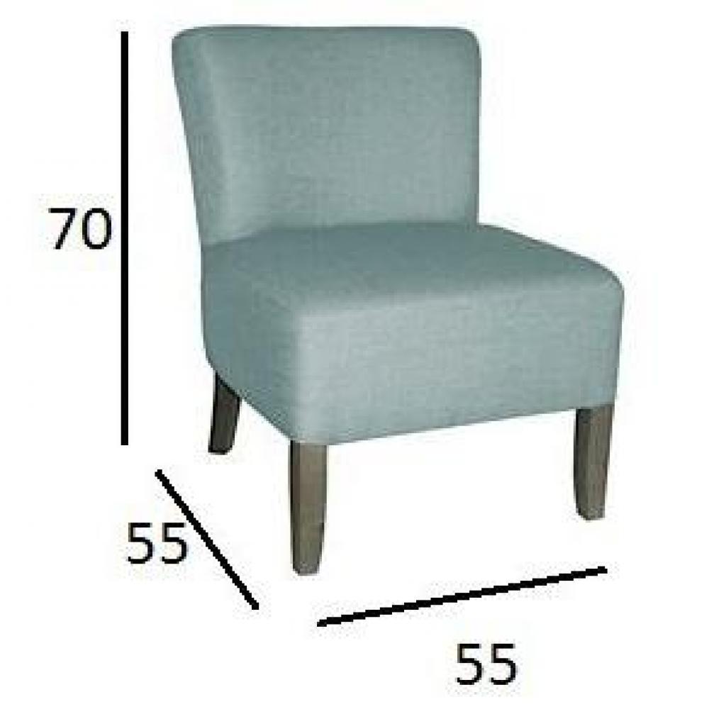 chauffeuses canap s et convertibles petit fauteuil volupte microfibre bleu clair inside75. Black Bedroom Furniture Sets. Home Design Ideas
