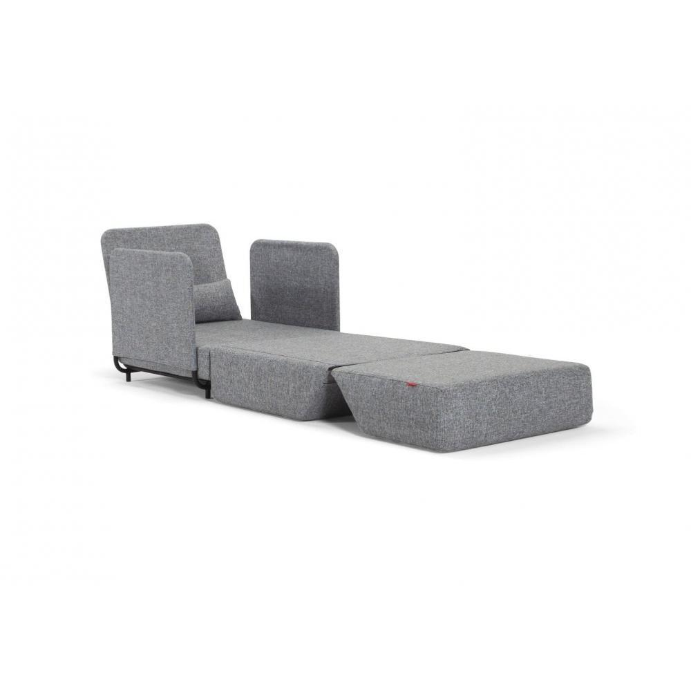 fauteuils convertibles canap s et convertibles innovation living fauteuil design fluxe gris. Black Bedroom Furniture Sets. Home Design Ideas