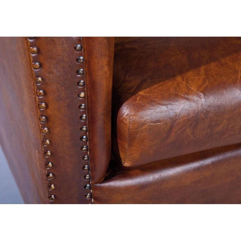 Fauteuils club canap s et convertibles fauteuil vintage cornwell en cuir ma - Fauteuil cuir marron vintage ...