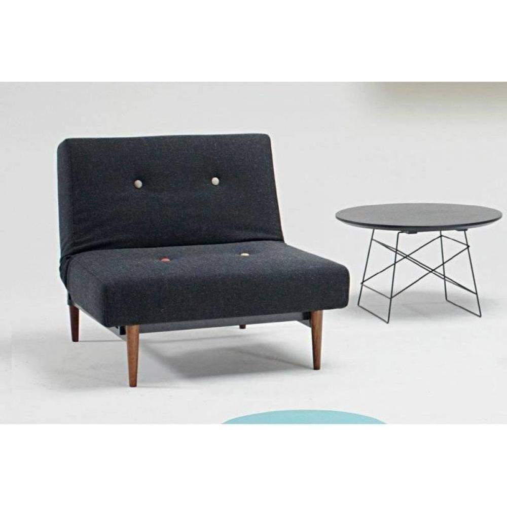 fauteuils convertibles canap s et convertibles fauteuil design fiftynine styletto noir nist. Black Bedroom Furniture Sets. Home Design Ideas