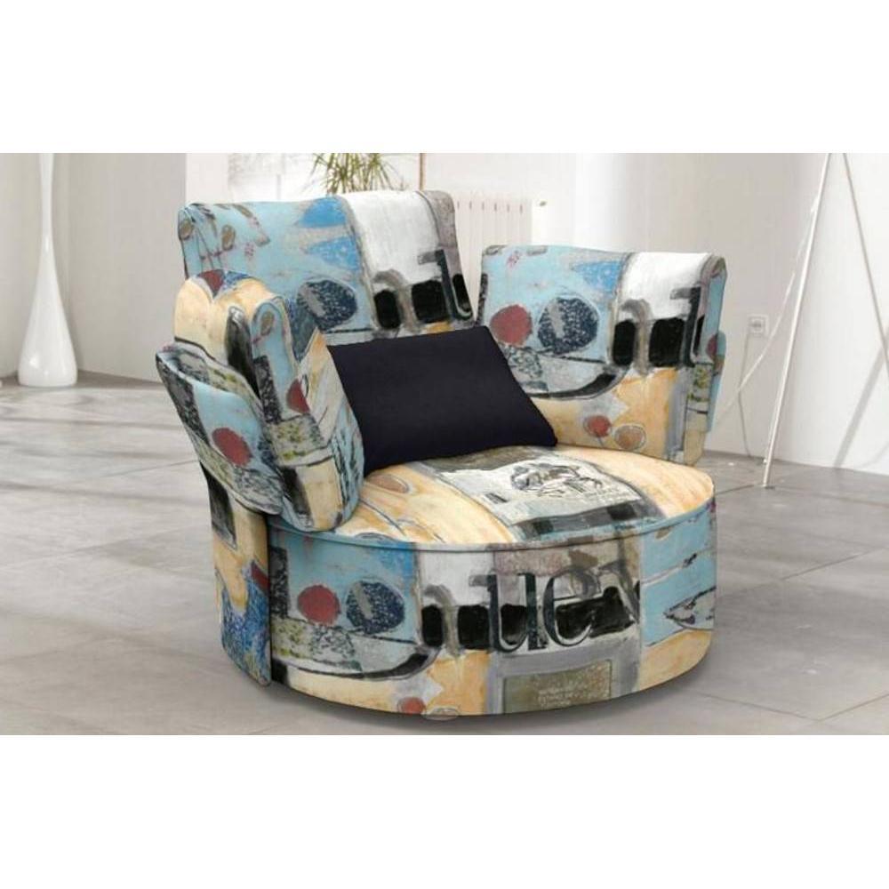 fauteuils design canap s et convertibles fama fauteuil pivotant zoe inside75. Black Bedroom Furniture Sets. Home Design Ideas