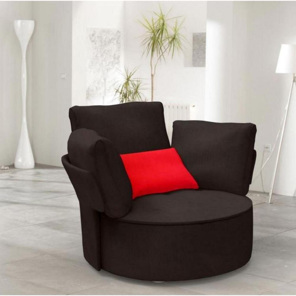 fauteuils poufs design au meilleur prix fama fauteuil pivotant zoe inside75