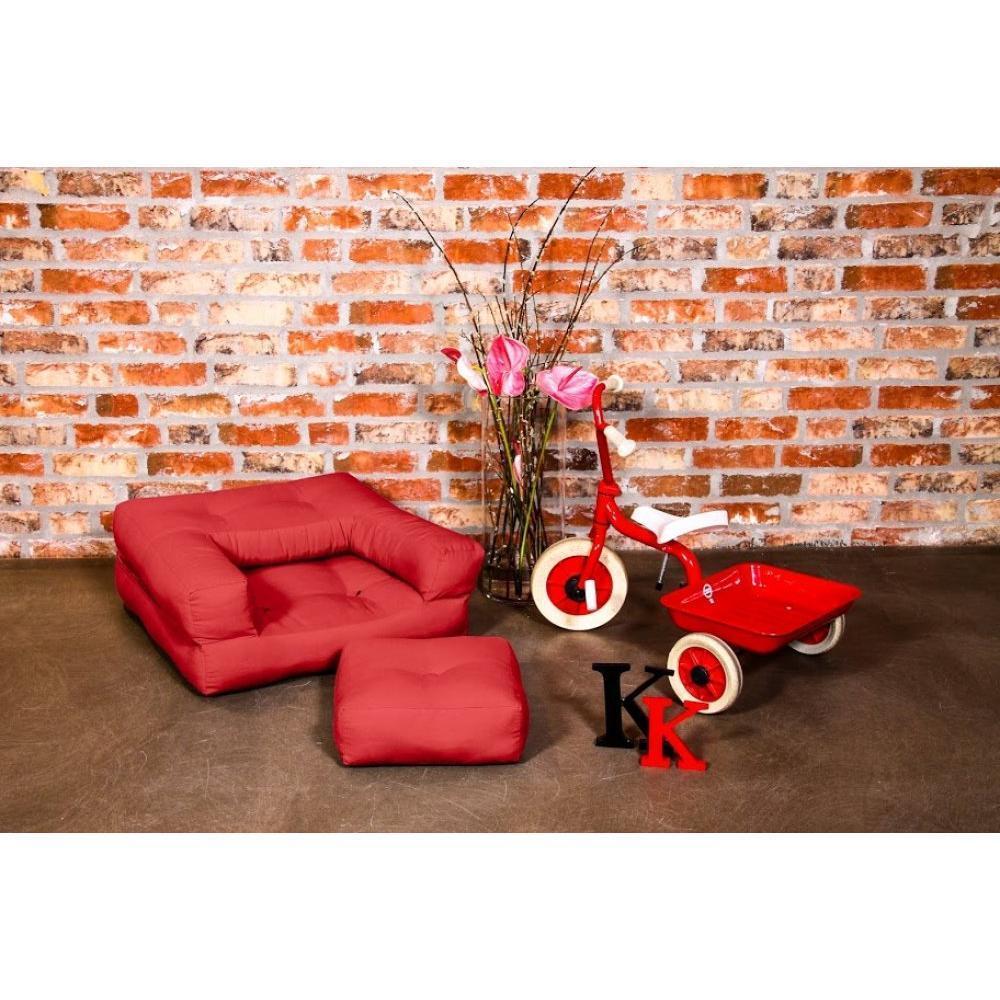 fauteuils convertibles canap s et convertibles fauteuil enfant cube 3 en 1 futon rouge. Black Bedroom Furniture Sets. Home Design Ideas