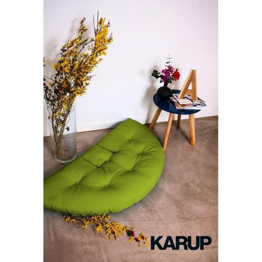 fauteuils poufs design au meilleur prix fauteuil lit enfant nest futon vert lime couchage 75. Black Bedroom Furniture Sets. Home Design Ideas