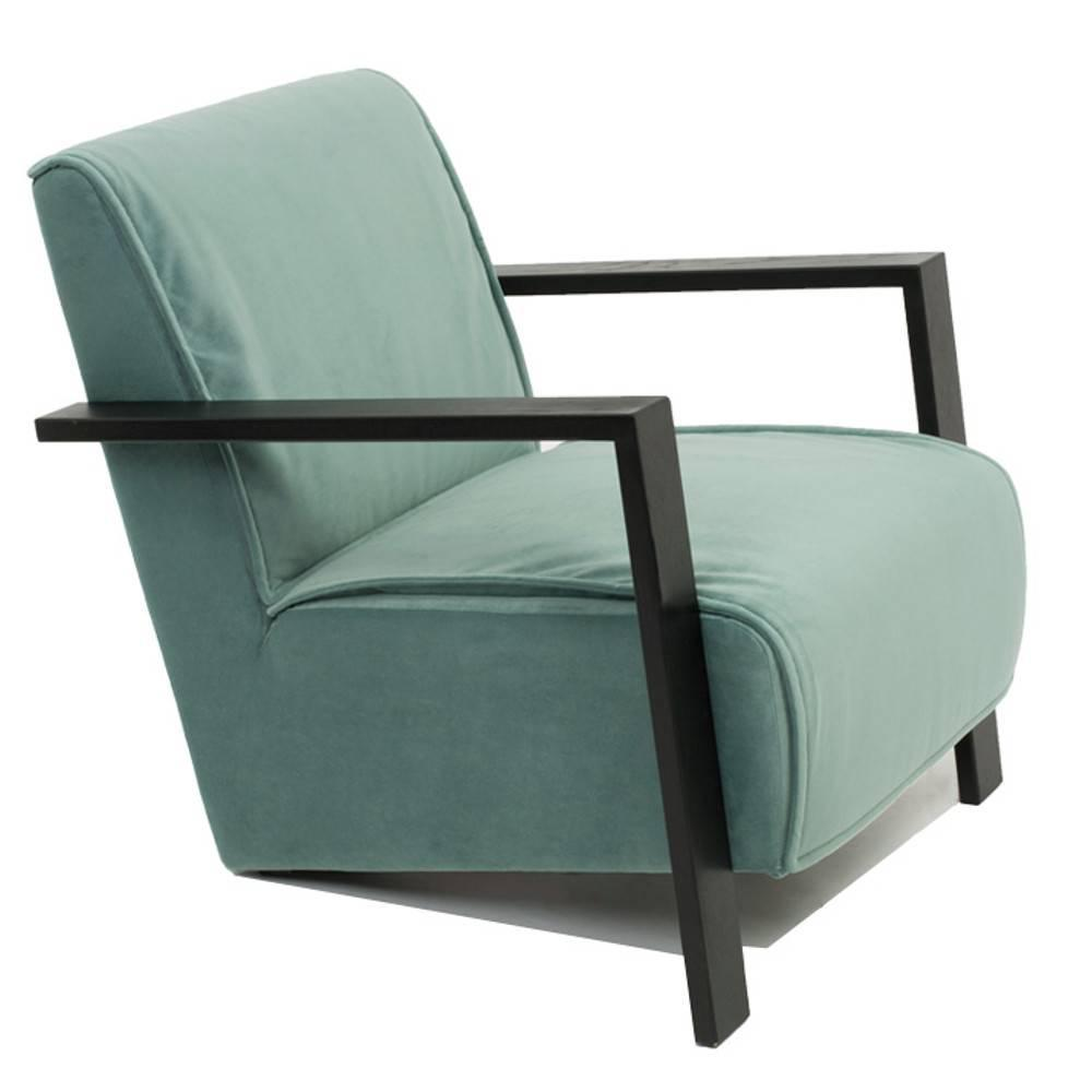 fauteuil style contemporain uma tissu velours vert ebay. Black Bedroom Furniture Sets. Home Design Ideas