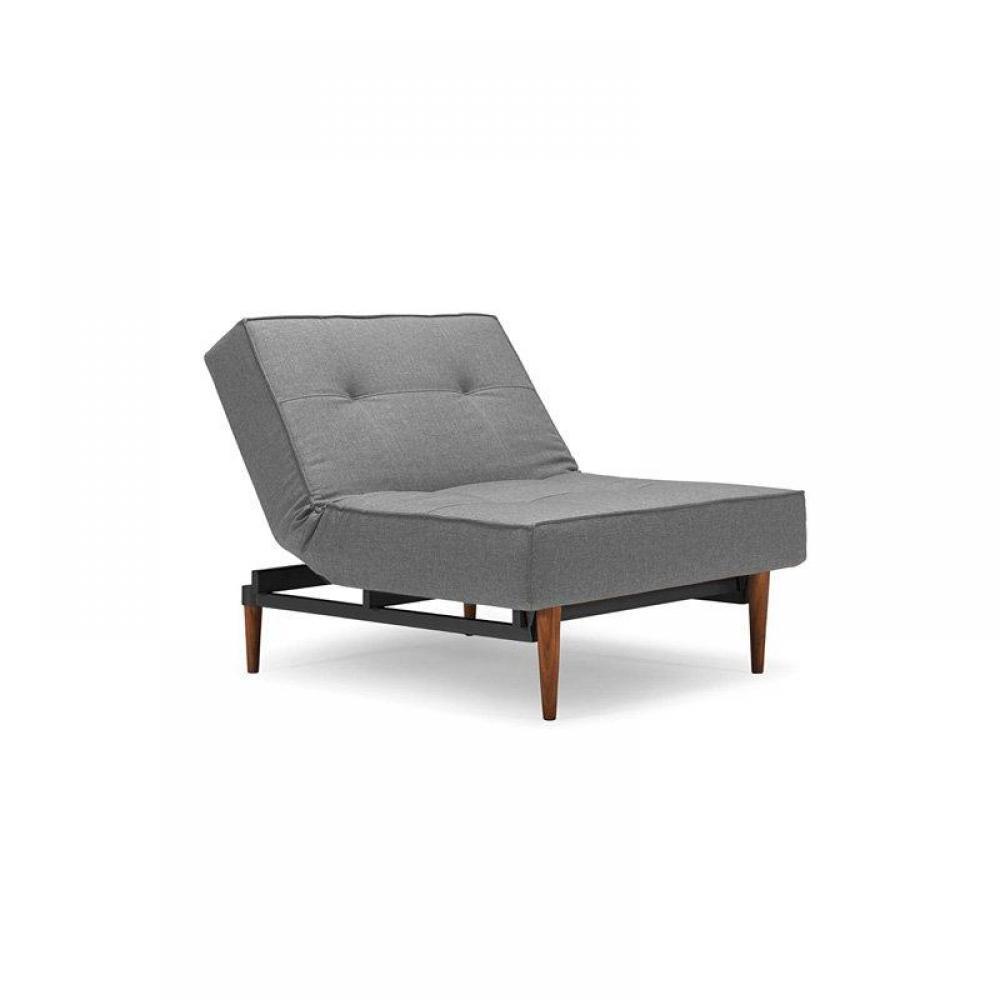 Canap s syst me rapido fauteuil lit design splitback bois gris convertible - Fauteuil convertible rapido ...