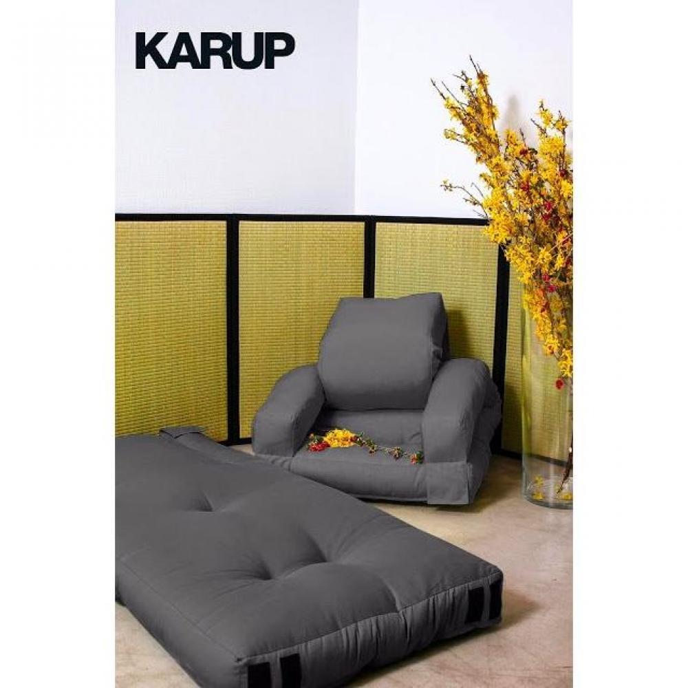 fauteuils convertibles canap s et convertibles fauteuil enfant lit hippo futon grey graphite. Black Bedroom Furniture Sets. Home Design Ideas