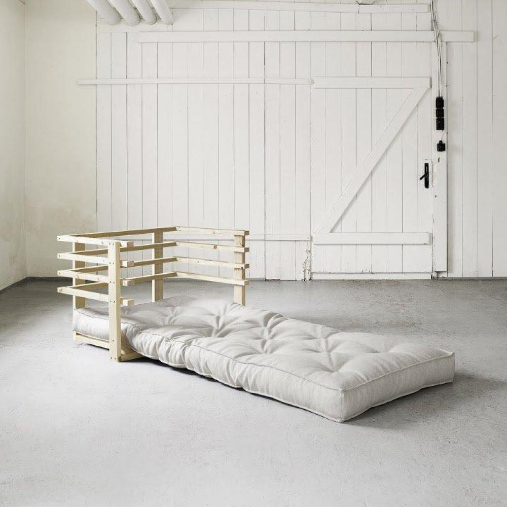 fauteuils convertibles canap s et convertibles fauteuil lit en pin massif funk futon cru. Black Bedroom Furniture Sets. Home Design Ideas