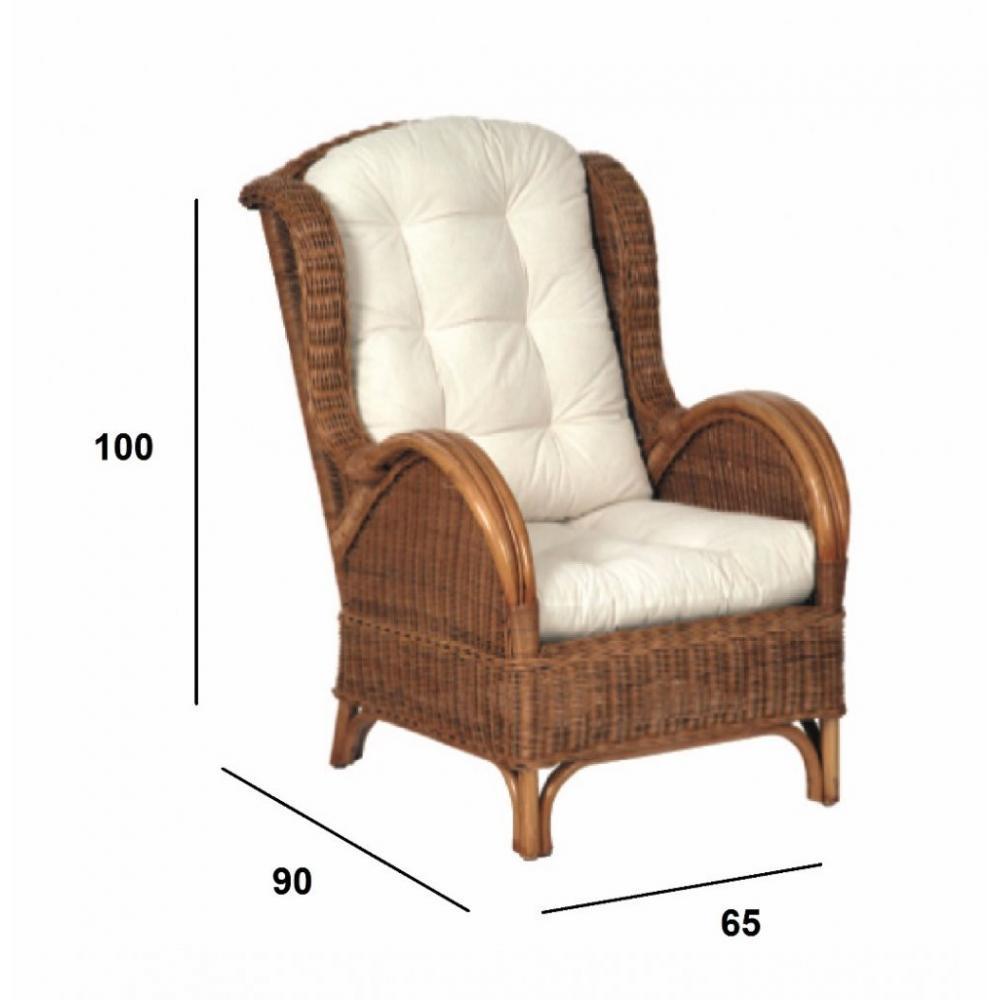 fauteuils design canap s et convertibles fauteuil malia en rotin inside75. Black Bedroom Furniture Sets. Home Design Ideas