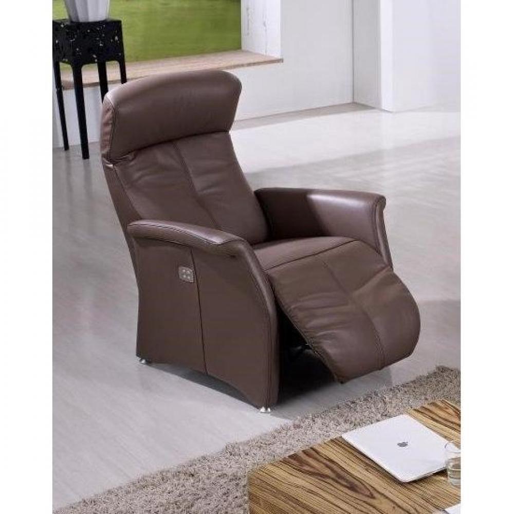 Canapé relax électrique & manuel au meilleur prix KINGSTON fauteuil