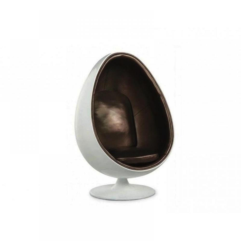 Fauteuils Oeuf Meubles Et Rangements Fauteuil Pivotant Oeuf Egg Chair Coque Blanche