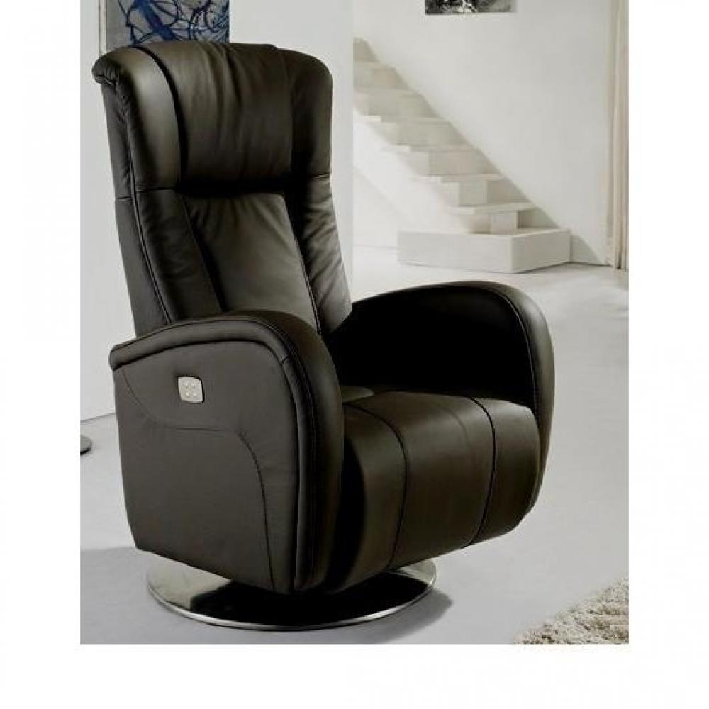 fauteuil pivotant cuir volupte prestige centrelec noir Résultat Supérieur 0 Bon Marché Fauteuil Cuir Electrique Relaxation Stock 2017 Kse4