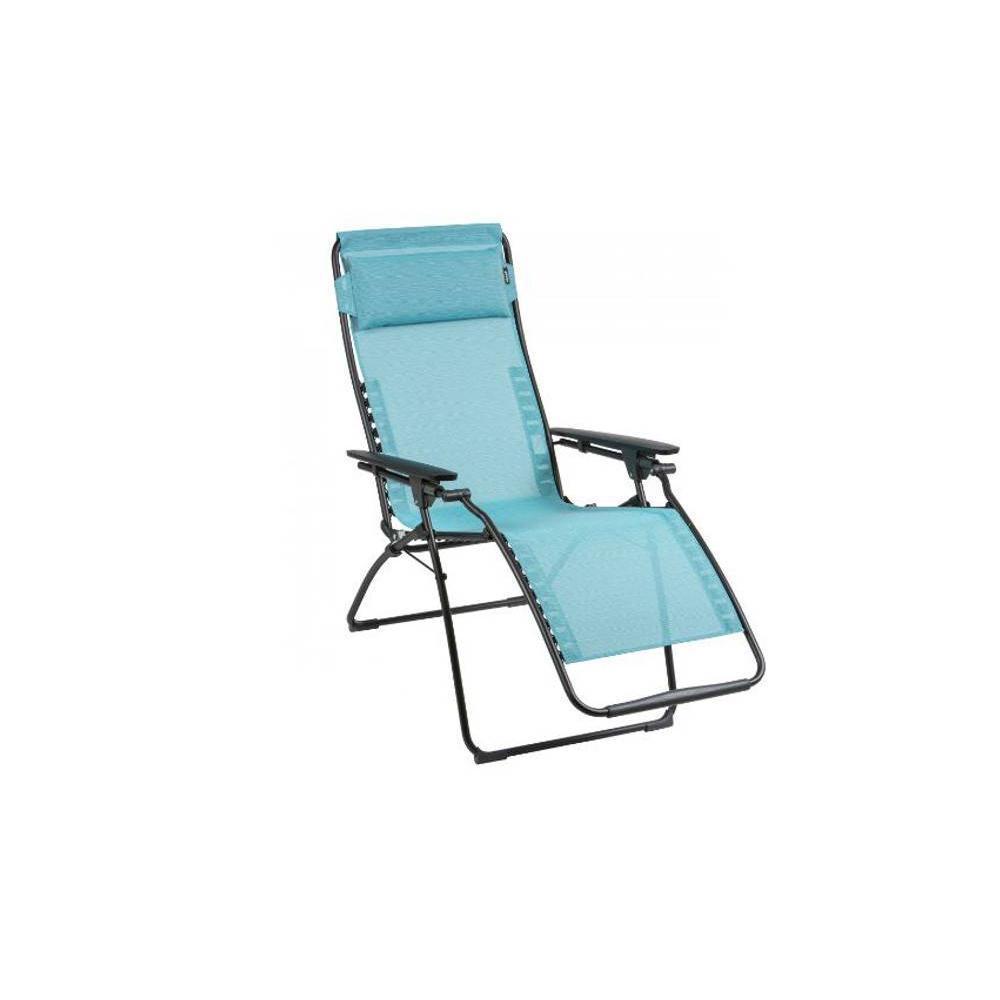 No l chaise lafuma table et chaises for Chaise longue de jardin lafuma